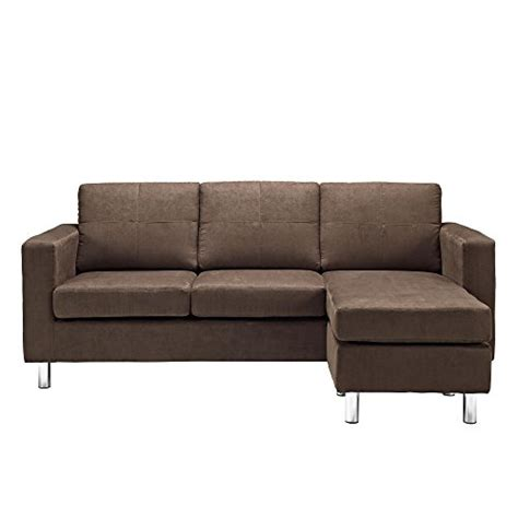 Dorel Living Small Spaces Configurable Sectional Sofa by Dorel Living Small Spaces Configurable Sectional Sofa