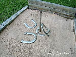 Hometalk How to Build A Horseshoe Pit
