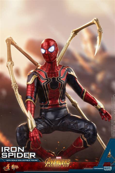 hot toys avengers infinity war iron spider figure