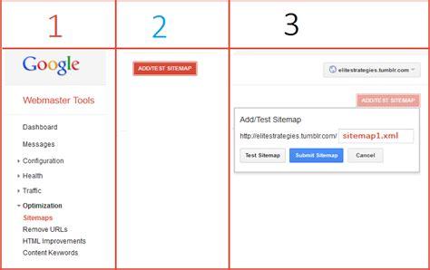 Tumblr Xml Sitemap Optimization