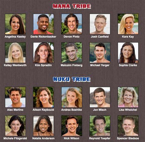 Game Changers re-cast : survivor
