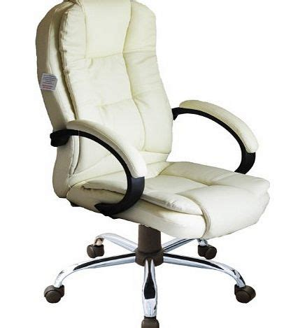 cream colored desk chair compare prices of leather office chairs read leather