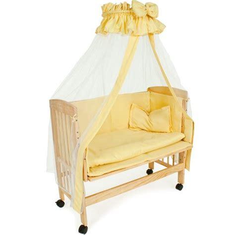 tectake lit d appoint pour enfants lit de b 233 b 233 lit 224 baldaquin berceau hauteur r 201 glable just