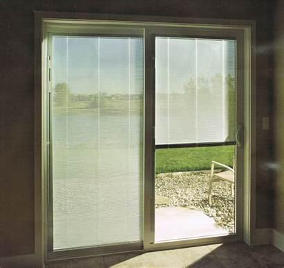 Patio Doors Blinds Door Sliding Built