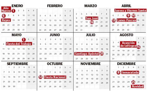 el calendario laboral de en euskadi el diario vasco