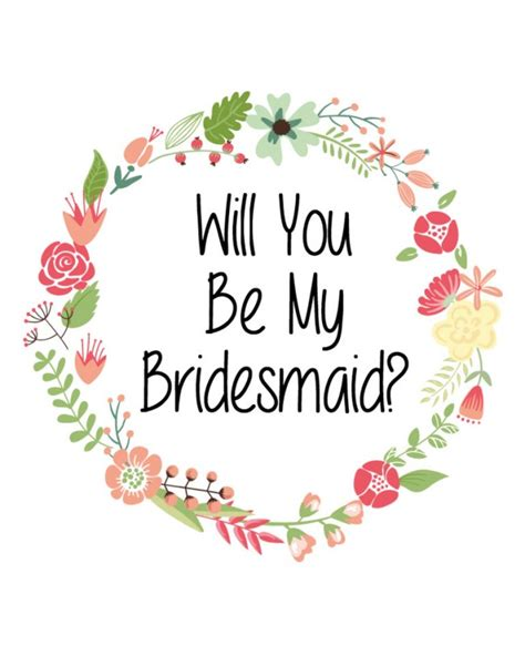 Will You Be My Bridesmaid Wine Label Template by Will You Be My Bridesmaid Label
