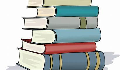 Colored Clipart Open Clip Stack Books Library