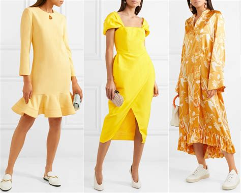 what color shoes to wear with a white dress what color shoes to wear with a yellow dress