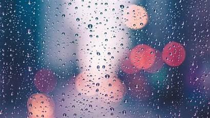 Rain Water Drops Reflection Wallpapers Monsoon Drop