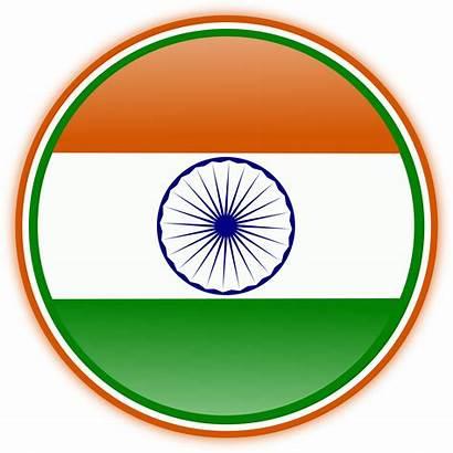 Flag Indian Clipart Clip India Independence Tiranga