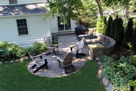 Patio Arrangements by Minneapolis Landscape Design Lawn Care Mowing Service