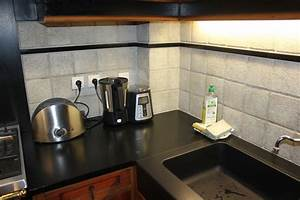 Evier cuisine granit noir cuisine granit noir tropical for Meuble 90x60 10 evier cuisine granit noir cuisine granit noir tropical
