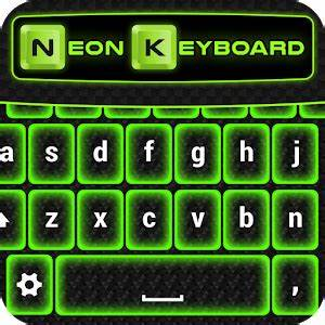 Download Green Neon Keyboard Themes for PC