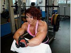 Dünya Vücut Geliştirme Şampiyonu Kadın Sporcunun Pek de
