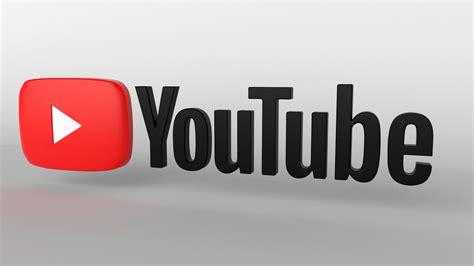 youtube logo 3d 3D model | CGTrader