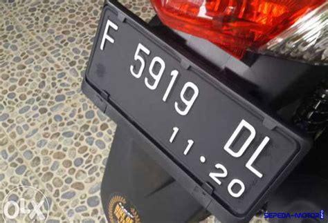 macam  harga dudukan plat nomor sepeda motor info