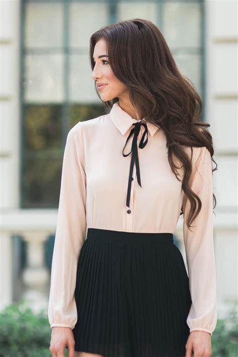 valerie black blouse pleated shorts blouses  women