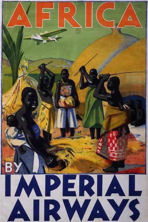 23 Wonderful Vintage Imperial Airways Posters From Between ...