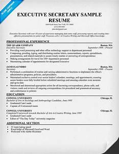 how to write an executive secretary resume With how to write a resume for an executive position