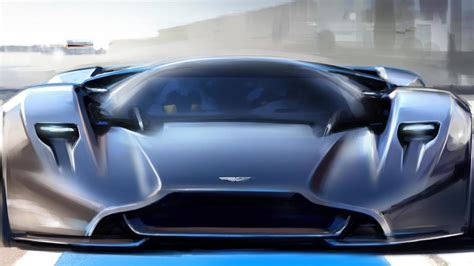 aston martin schedules mid engine  supercar