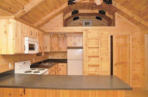 10 X 15 Shed With Loft by Getaway Cabins Pine Creek Structures