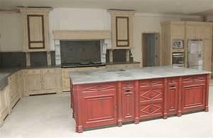 renovation cuisine rustique pour repeindre cette cuisine With marvelous meuble de cuisine en bois rouge 6 com moderniser cuisine rustique