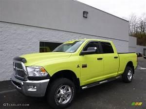 Cab Nation : 2011 national fire safety lime yellow dodge ram 2500 hd big horn crew cab 4x4 88059581 ~ Gottalentnigeria.com Avis de Voitures