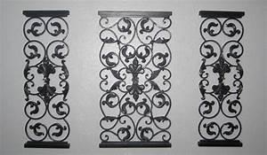 Wall Decor. Nice Decorative Wrought Iron Wall Panels ...