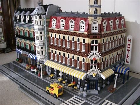 Brick Town Talk July 2008  Lego Town, Architecture