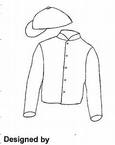 jockey silk colouring pages With jockey silks template