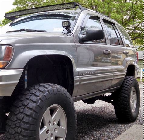 Jeep Grand Light Bar by Wj Brackets For 50 Quot Curved Led Light Bar Includes A Set