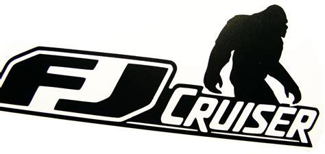 Toyota Fj Cruiser 4x4 Off Road Car Vinyl Decal