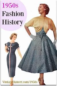 1950s Fashion History: Women's Clothing | 1950s fashion ...