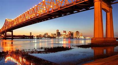 Orleans Louisiana Romantic River Places Mississippi States