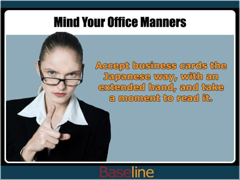 Mind Your Office Manners  It Management  News & Reviews