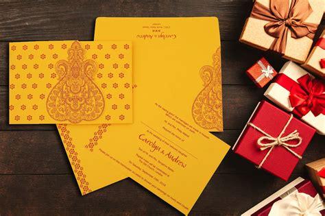 Hindu Wedding Invitations Marriage Cards A2zWeddingCards