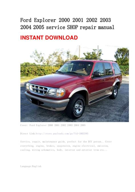 small engine repair training 2003 ford ranger user handbook ford explorer 2000 2001 2002 2003 2004 2005 service shop