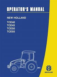New Holland Tractor Tce Series