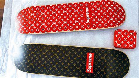 Supreme Skateboarding Now Supreme X Louis Vuitton Skateboard