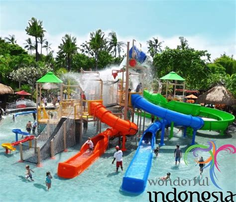 Bali Indonesia Tourism Photo Gallery Waterbom Kuta Bali 11