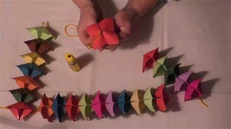 faschingsdeko basteln mit kindern faschingsdeko aus tonpapier