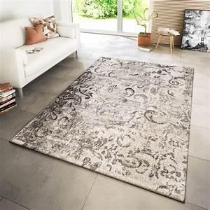 Teppich Modern Wohnzimmer : teppich modern wohnzimmer webteppich modern ornamente ~ Lizthompson.info Haus und Dekorationen