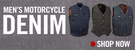 Motorcycle Jackets, Denim Vests, Motorcycle Helmets L