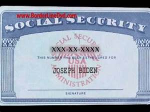 borderline fake id segment youtube With make a social security card template