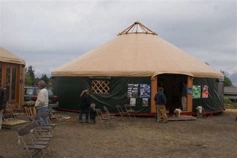 Alaska Firm Starts Campaign To Supply Yurts To Fire