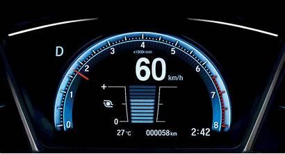 Civic Honda Malaysia Sensing Facelift Launched Meter