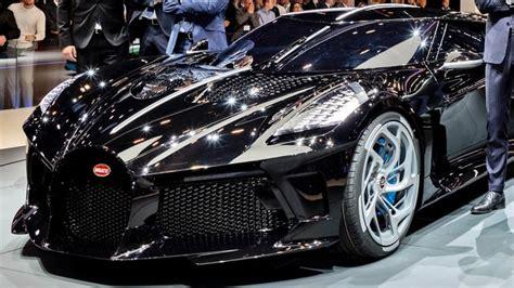 La voiture noire is a far more than a modern interpretation of jean bugatti's type 57 sc atlantic. Bugatti La Voiture Noire Owner In The World - Supercars Gallery