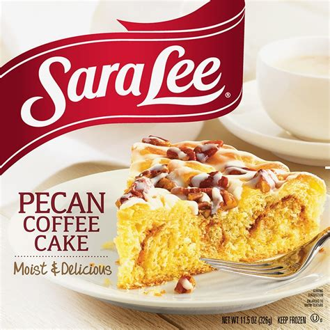 It is one of my husband's favorite things in the universe. Pecan Coffee Cake - Sara Lee Desserts | Always in Season | Delicious Desserts for Every Occasion