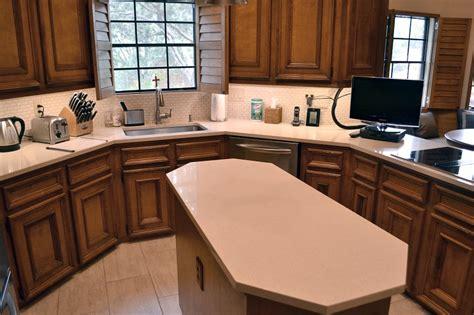 Unique Kitchen Countertop Ideas - natural stone kitchen countertops granite kitchen counters austin