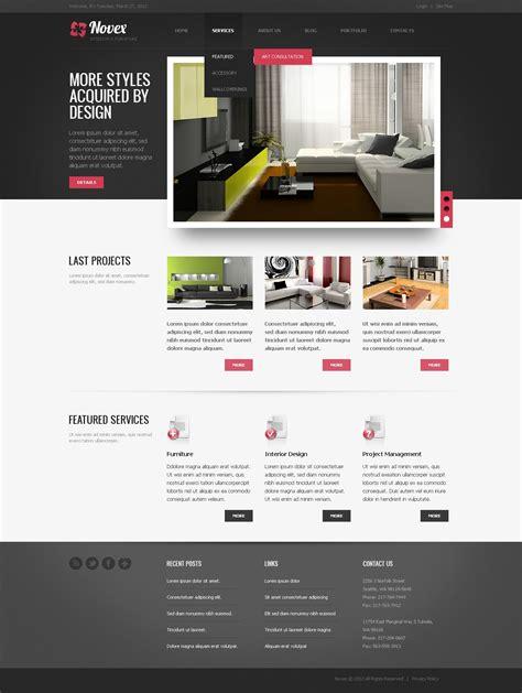 drupal templates interior design drupal template 38315